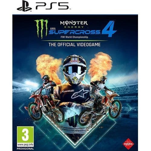 Monster Energy Supercross 4 PS5 Game